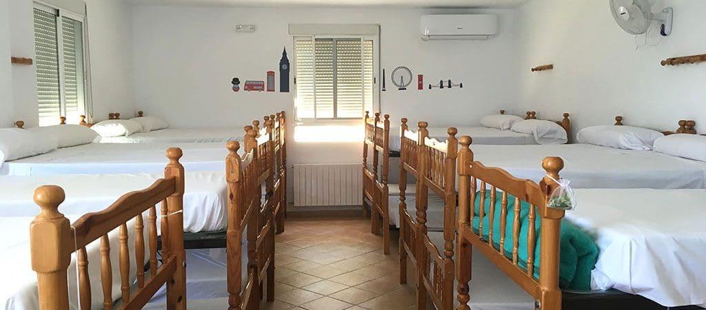 Dormitorios climatizados con baños privados